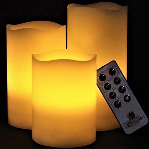 LED Lytes Flameless Candles Flickering