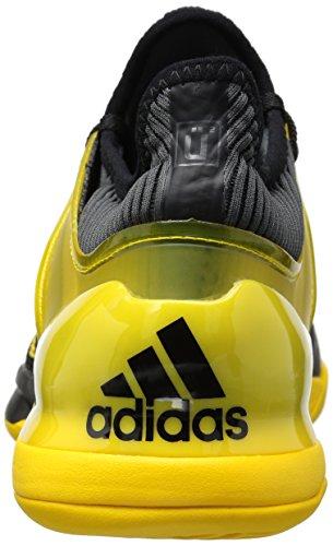 Adidas Originaler Mænds Adizero Ubersonic 2 Tennissko Sort / Udstyr Gul / Grå Fem oj8E1