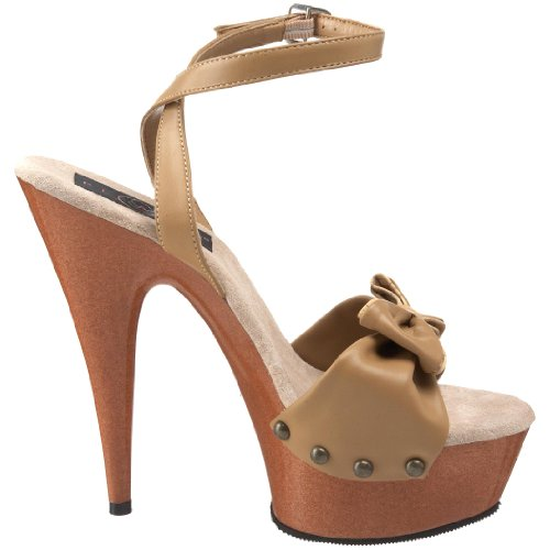 Sandales T Femmes LE DEL642W Cuir Pleaser gt5qxBwg1
