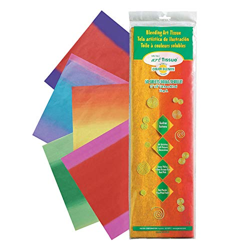 Spectra PAC58560BN Deluxe Bleeding Art Tissue, 5 Madras Patterns 12