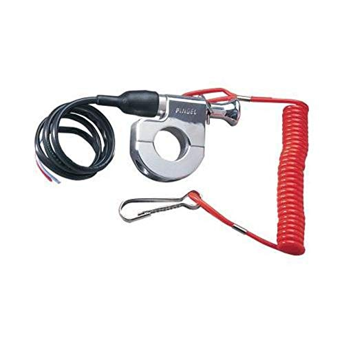 Pingel Tether Kill Switch for 7/8in. Handlebars 640 ()