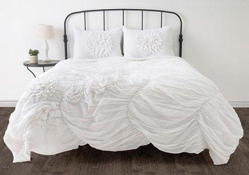 Amazon hush bedding set twin white home kitchen mightylinksfo