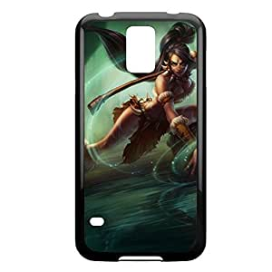 Nidalee-001 League of Legends LoL case cover Ipod Touch 4 - Plastic Black