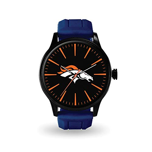 (Q Gold Gifts Watches NFL Denver Broncos Cheer Watch by Rico)