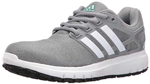 adidas Performance Women's Energy Cloud Wtc W Running Shoe, Heather/White/Tech Grey, 6 M US