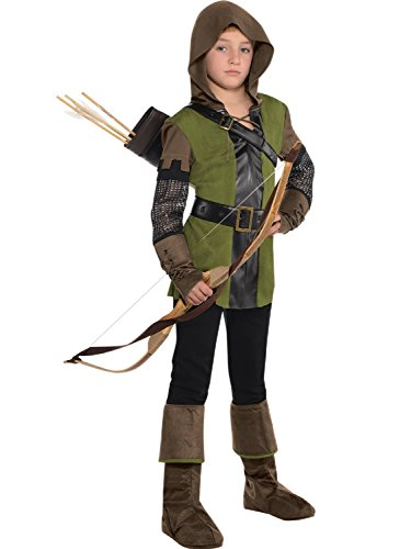 Boys Teens Prince of Thieves World Book Day TV Book Film Archer Fancy Dress Costume Outfit 6-14 Yrs (12-14 Years) ()