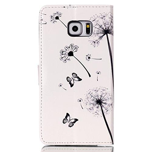 aeeque se, iPhone 5/5S/5C/6/6S (Plus), Samsung Galaxy S3/S4/S5/S6/S6Edge/S6Edge Plus/J5/Note 5/S7/S7edge/G360/G530/i9060, Sony Xperia M4/Z5/Z5mini, Huawei P8Lite elegante dibujo pintura patrón f Dandelion Kids