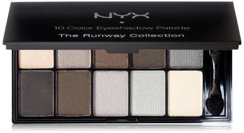 NYX Professional Makeup Eyeshadow Palette 10 Color, Smokey E