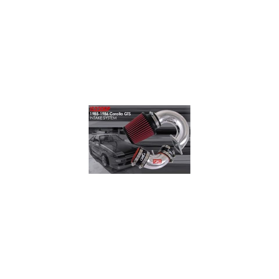 Toyota Corolla short ram air intake system for 85 86 ColorSilver