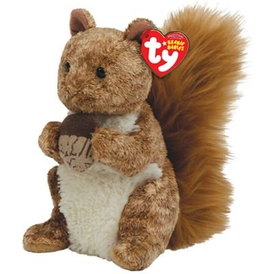 Amazon.com  TY Beanie Baby - TREEHOUSE the Squirrel  Toys   Games fc2d40cb1f0