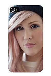 Protective PC Case With Fashion Design For Iphone 4/4s (ellie Goulding)