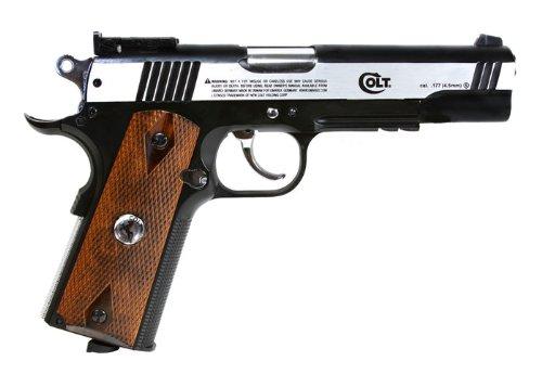 Colt 1911 Special Combat Classic CO2 BB Pistol, .177 - Pistol Colt Co2