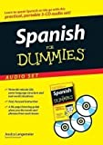 img - for Spanish For Dummies Audio Set by Langemeier, Jessica on 22/05/2007 Com/Pap Bl edition book / textbook / text book