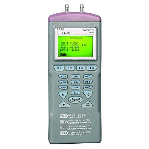 Sper Scientific Datalogging Manometer, 5 psi
