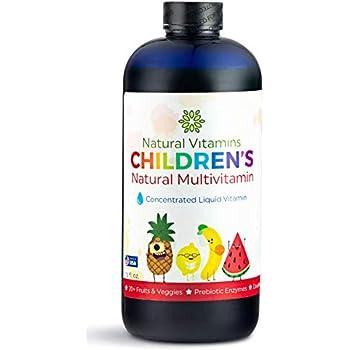 Amazon Com Premium Kids Liquid Multivitamin Amp Superfood