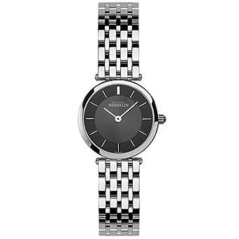HERBELIN - 1045-B14 - Epsilon - Montres Femme - Quartz - Noir - Bracelet Acier Inoxydable Acier