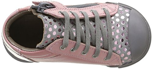 Mod8 Pas Imprimé Bébé Chaussures Fille Premiers Kloklo Rose Rose rqfrtw4
