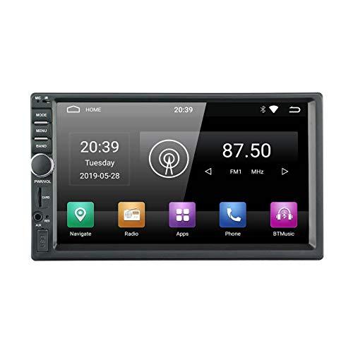 Ezonetronics 2din Android Car Radio Stereo Head Unit 7 Pulgadas Pantalla Tactil Capacitiva De Alta Definicion Navegacion Gps Con Usb Sd Wifi Bluetooth Am Fm Reproductor De Audio 1g Ram 16g Rom