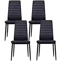 IDS Online 4 PCS Set Dining Side Chair with Foot Pad...