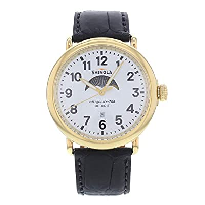 Shinola The Runwell Automatic-self-Wind Male Watch 10000180 (Certified Pre-Owned) by Shinola