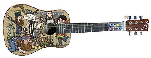 ChordBuddy Limited Edition, Duck Commander Child's Size Acoustic Guitar and ChordBuddy Learning Kit by ChordBuddy
