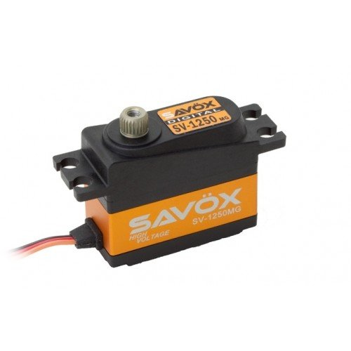 (Savöx SV1250MG High Voltage Micro Tail Digital Servo)