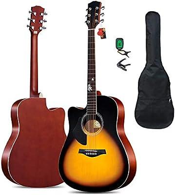 BAIYING-Guitarra Acústica Guitarra Clasica Práctica for ...