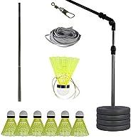 Etase Badminton Trainer Stretch Badminton Robot Racket Training Sports Self-Study Practice Machine Badminton S