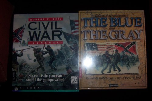 Robert E. Lee Civil War General & The Blue & The Gray PC Game Package ()