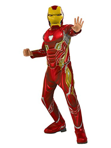 Rubie's Marvel Avengers: Infinity War Deluxe Iron Man Child's Costume, -
