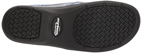Easy Works Women's Bind Health Care Professional Shoe, Blue Mosaic Pa, 7.5 W US by Easy Works (Image #3)