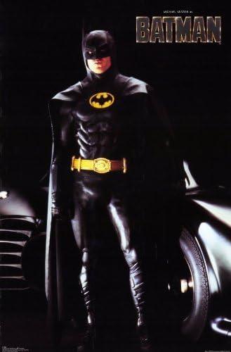 BATMAN Movie PHOTO Print POSTER Film 1989 Tim Burton Michael Keaton Glossy 002