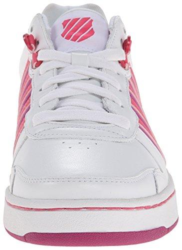 4 US K Zapato de Tenis Mujer Blanco EU 5 37 UK Jackson 6 5 Swiss 5 ggatqPw
