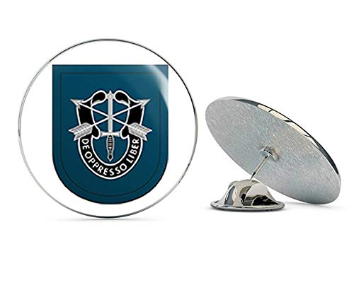 """Veteran Pins US Army 19th Special Forces Group Airborne Flash Metal 0.75"""" Lapel Hat Pin Tie Tack Pinback"""