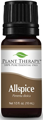 Plant Therapy Allspice Essential Oil 10 mL (1/3 oz) 100% Pure, Undiluted, Therapeutic Grade ()