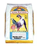 Sun Seed Company BSS14445 Miami Vita Mix Parrot Food, 25-Pound, My Pet Supplies