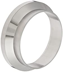 Dixon 15WI-R400 Stainless Steel 316L Sanitary Fitting, Female I-line Short Weld Ferrule, 4\