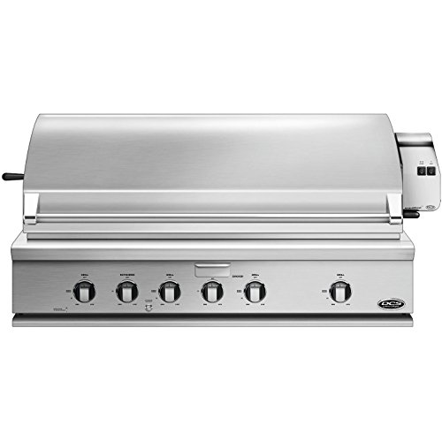 DCS 48-Inch Built-In Natural Gas Grill with Rotisserie by DCS