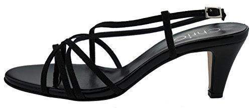CHRIGI Schwarz CHRIGI Sandaletten Schwarz A120 Sandaletten A120 Schwarz Sandaletten A120 CHRIGI CHRIGI Sandaletten A120 wBUAOqv