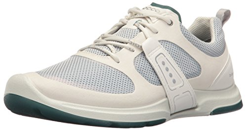 Ecco Dames Biom-amraatsluiting Fashion Sneaker Shadow Wit / Shadow White / Biscaya