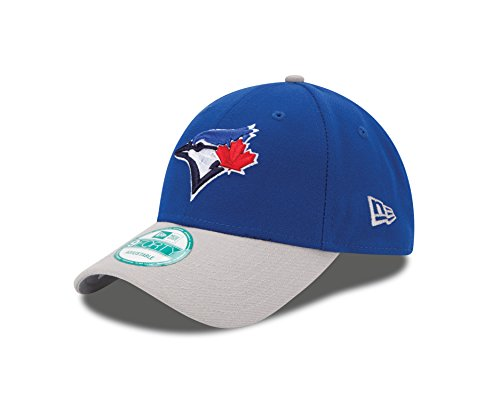 New Era MLB Toronto Blue Jays The League 2Tone 9FORTY Adjustable Cap, One Size, Royal