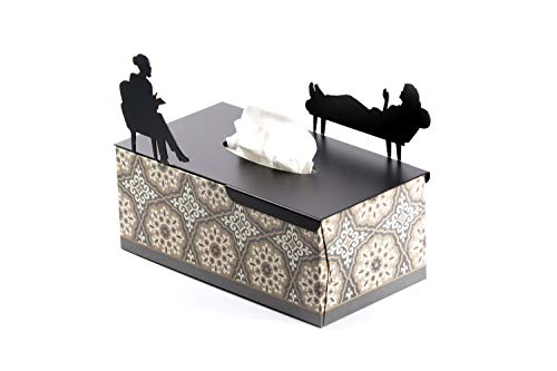 Artori Design Tissue Box Holder - Psychologist Gifts - in HER Treatment