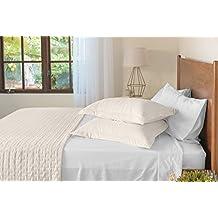 Jennifer Adams Home Eternal Madison Quilted Blanket (King/Cal King, Ivory)