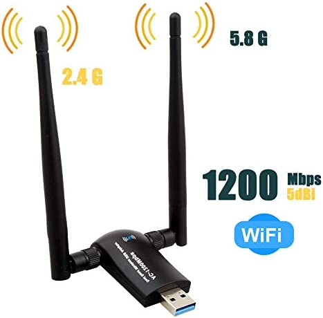 Wireless Adapter 1200Mbps Antennas Raspbian product image
