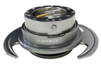 NRG Gen 3.0 Steering Wheel Quick Release Kit Gun Metal Color