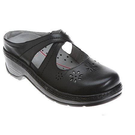 Newport By Klogs Footwear Women's Carolina Crisscross Nursing Shoe Black Smooth by Klogs