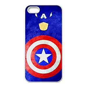 Captain Americ iPhone 4 4s Cell Phone Case White Decoration pjz003-3803554
