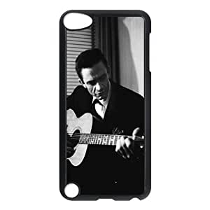 New Design Durable Back Cover Case for Ipod Touch 5 Phone Case - Johnny Cash HX-MI-039189
