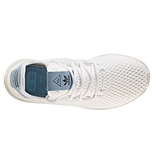 Moda Blu de HU PW Tennis Adidas Pharrell White para Origina Williams Mujer Zapatillas Rpw7YRxBXq