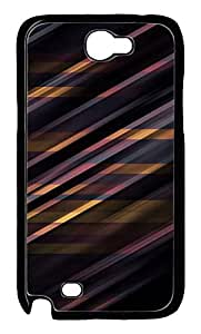 Samsung Note 2 Case patterns abstract parallax 11 PC Custom Samsung Note 2 Case Cover Black